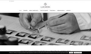 diseño web home fornituras l mora